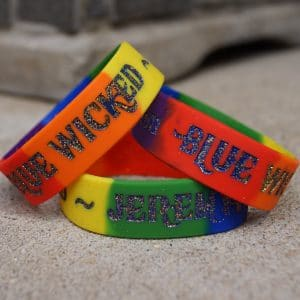 jeremy heiden wristband, jeremy heiden blue wicked wristband