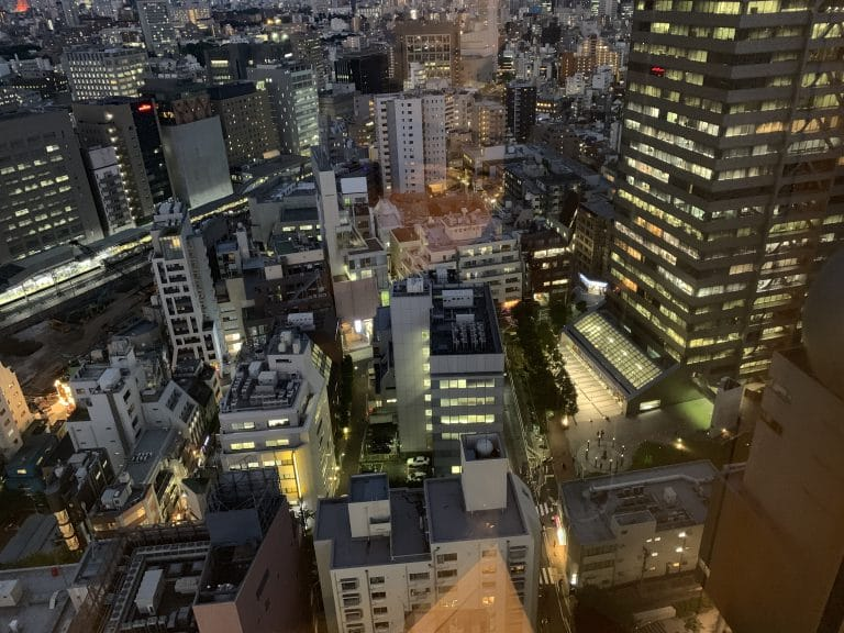 Hotel view Jeremy Heiden Japan