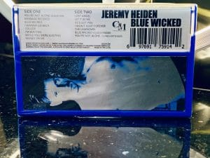 Blue Wicked - Jeremy Heiden Cassette Back
