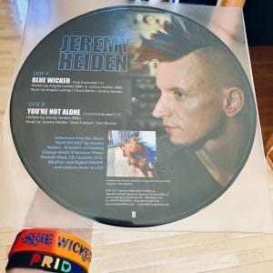 jeremy heiden, blue wicked, jeremy heiden blue wicked picture disc